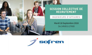 Le groupe Sofren organise une session collective de recrutement !