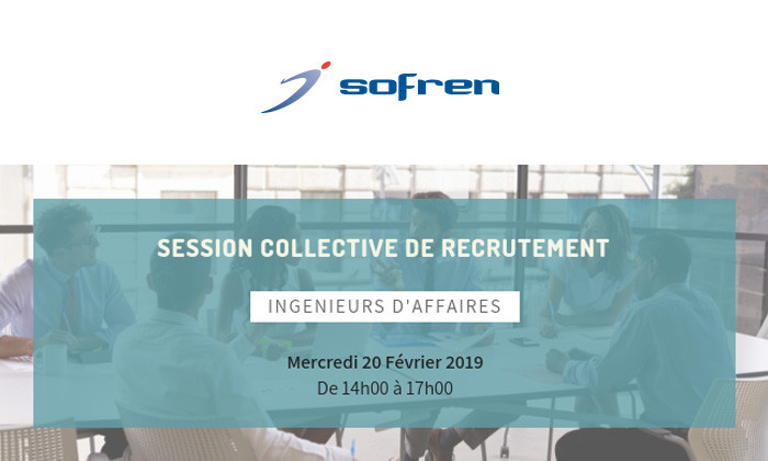 SOFREN : Session collective de recrutement - février 2019